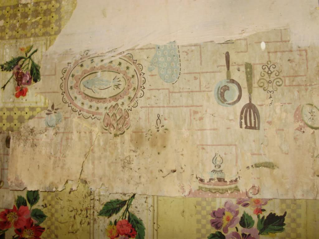 Kitchen wallpaper retro - Retro Kitchen Wallpaper 2015 Grasscloth Wallpaper