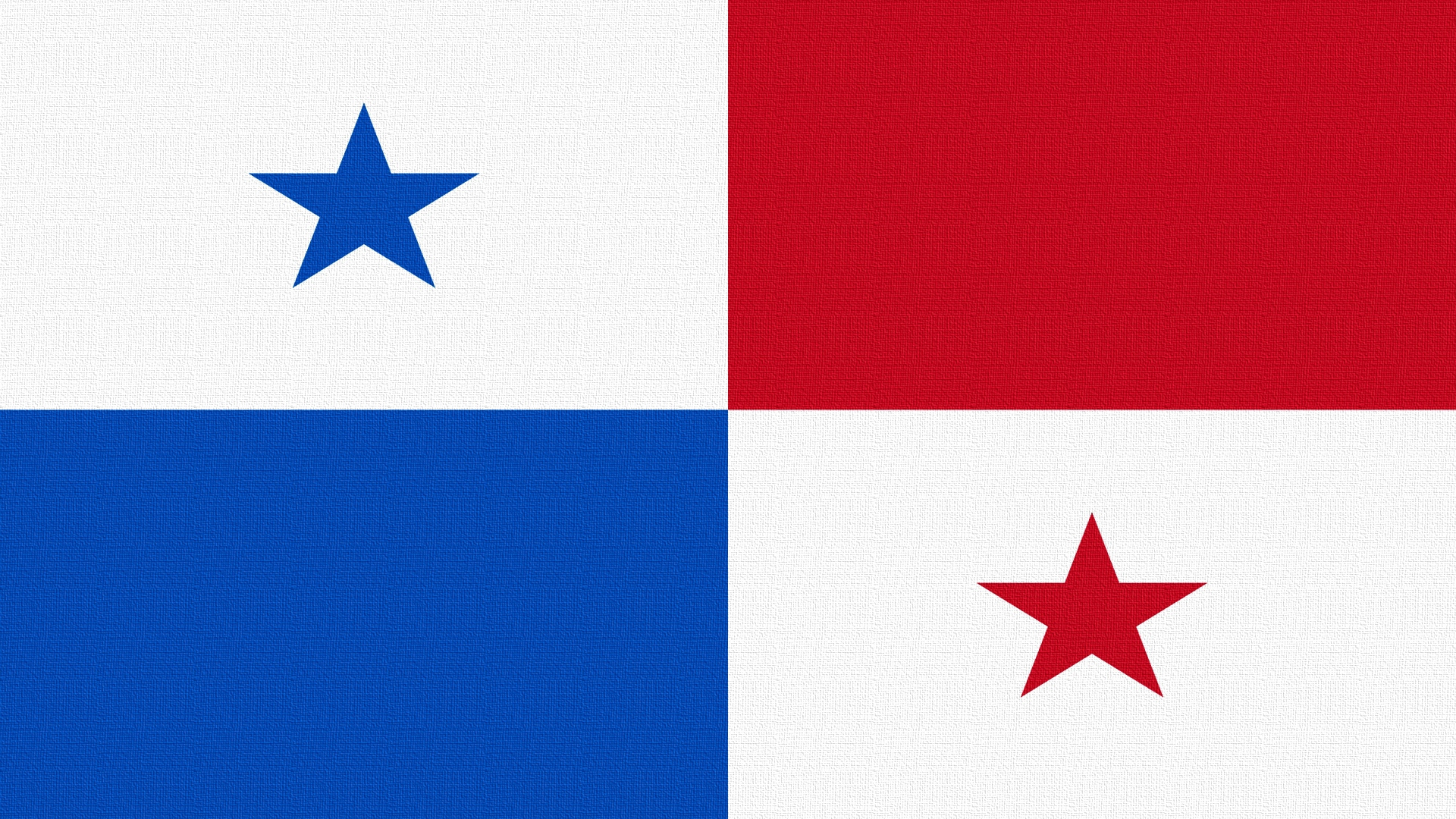 Download wallpaper 1920x1080 star flag panama hd background 1920x1080