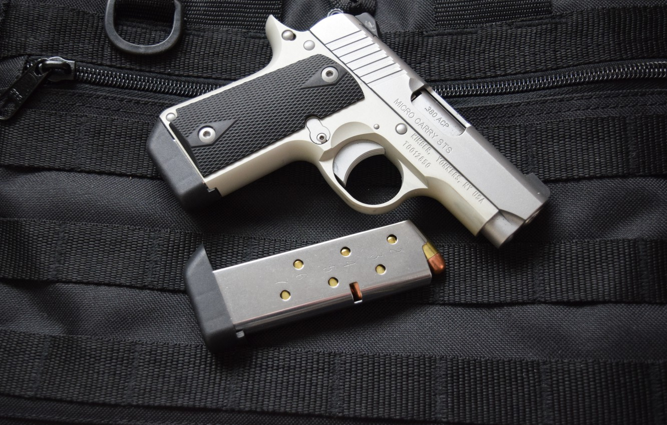 Wallpaper gun weapons Kimber Micro 380 images for desktop 1332x850