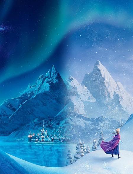 Disneys Frozen Wallpaper for Phones and Tablets 450x590