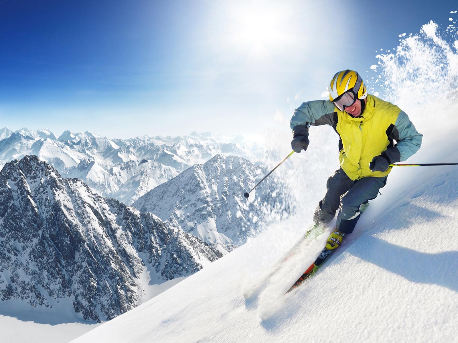 Extreme skiing wallpaper wallpapersafari - Ski wallpaper ...