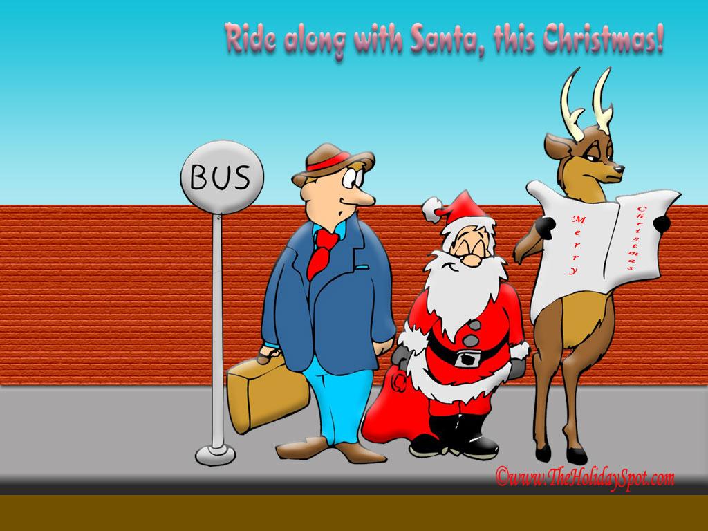 75] Funny Christmas Wallpaper on WallpaperSafari 1024x768