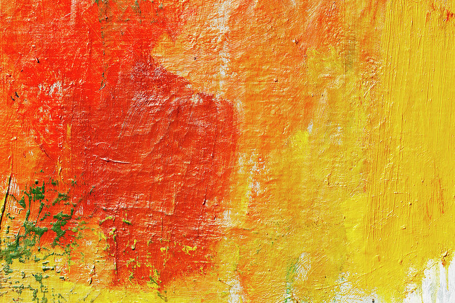 Abstract Painted Red Art Backgrounds Photograph by Ekely 900x600