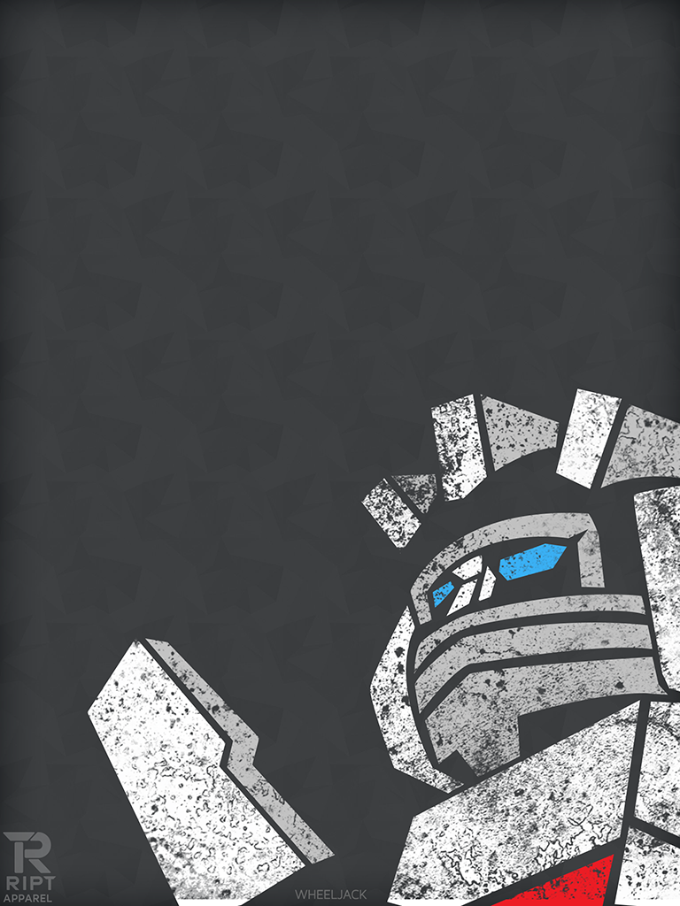 RIPT T Shirts Wheeljack Poster Wallpaper iPhone 5 and iPad Retina 768x1024