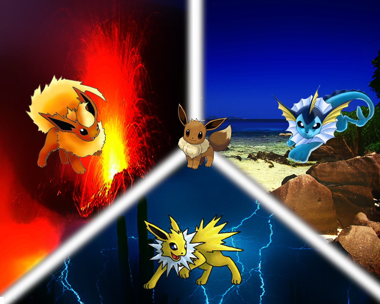 New Pokemon Wallpapers 1280x1024