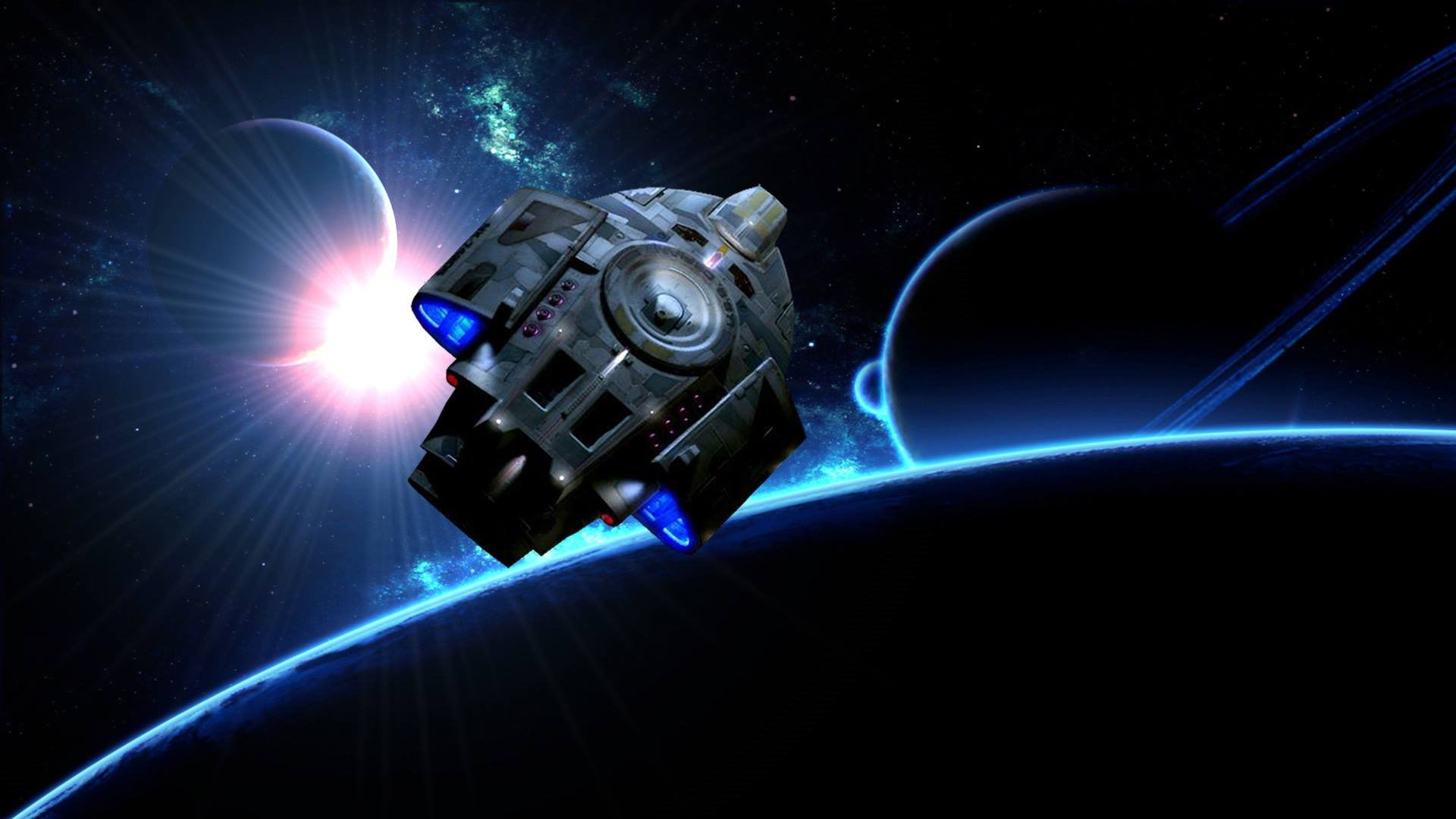 DEEP SPACE NINE Star Trek futuristic television sci fi spaceship 17 1920x1080