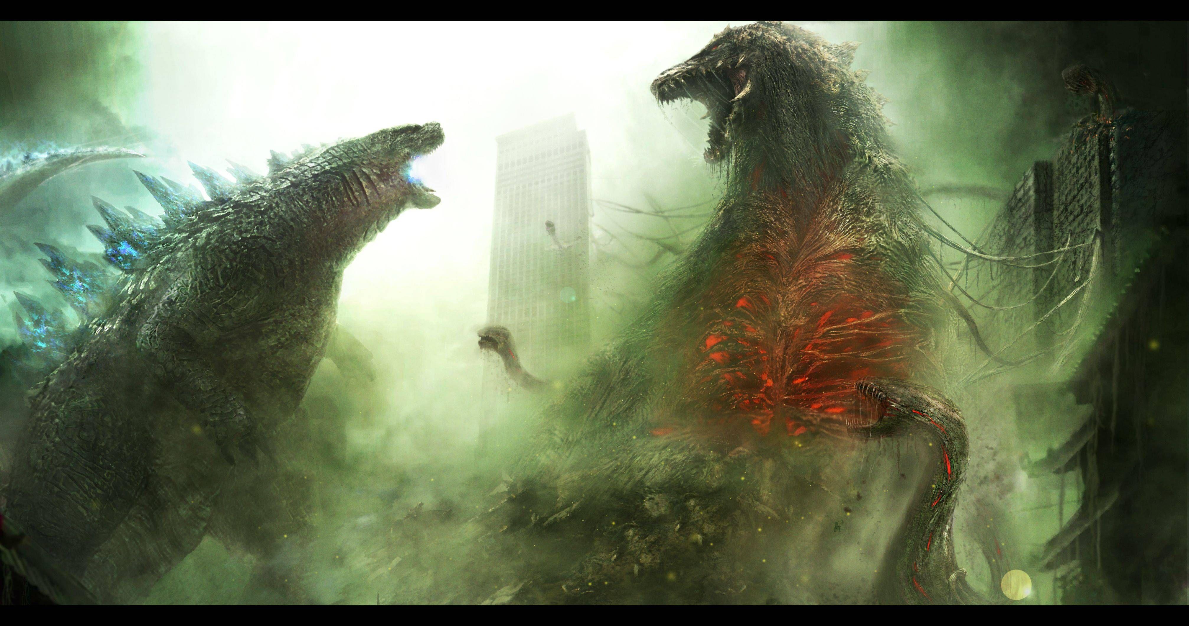 Legendary biollante godzilla in 2019 Godzilla Godzilla vs 4028x2122