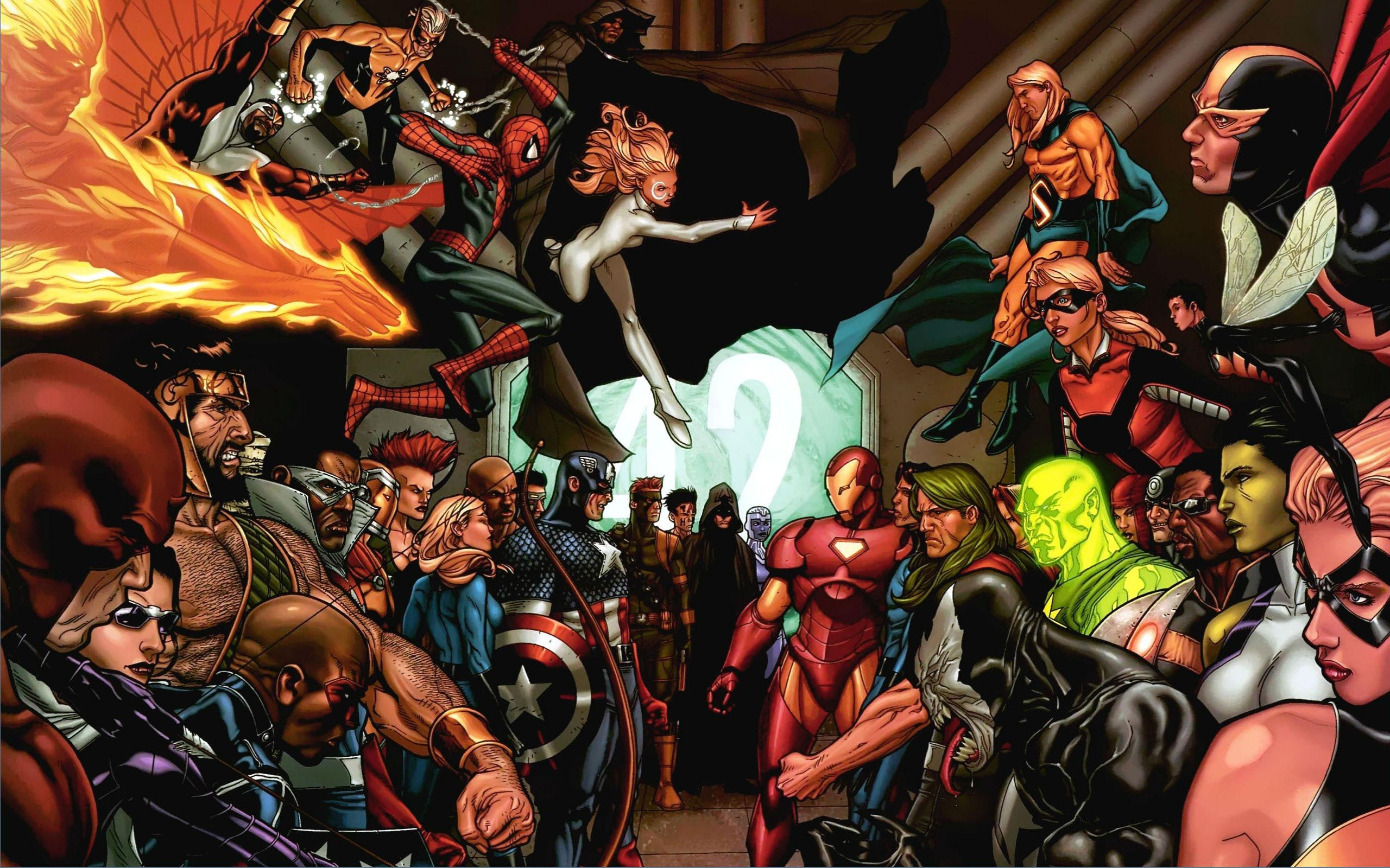 Marvel Civil War Computer Wallpapers Desktop Backgrounds 2560x1600 2560x1600