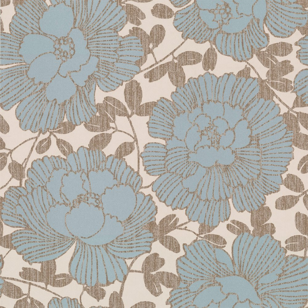 Buy Graham and Brown Manderley Wallpaper Blue Cream Gold 1000x1000
