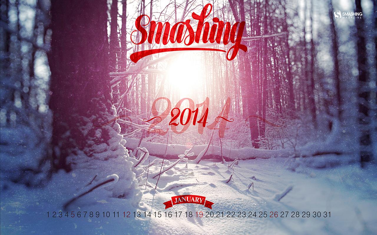 Desktop Wallpaper Calendars January 2014 Smashing Magazine 1280x800