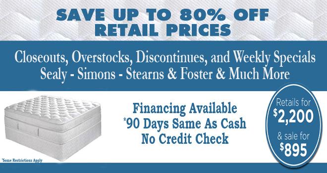 discount overstockDenver Discount Mattress Closeout Overstock 660x350
