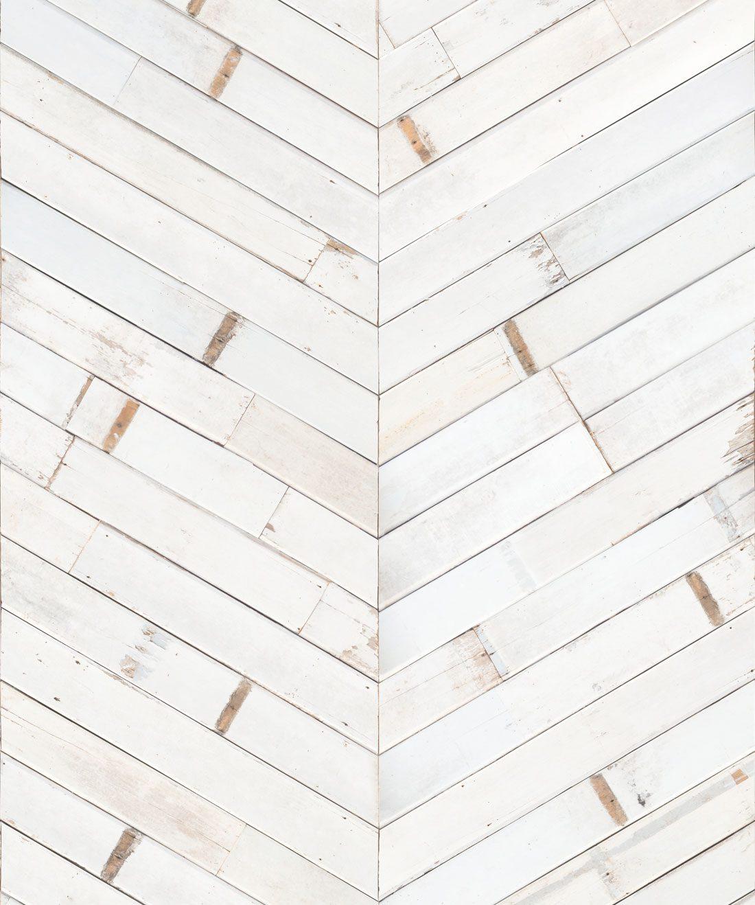 Distressed Timber Chevron Wallpaper Realistic Milton King 1100x1318