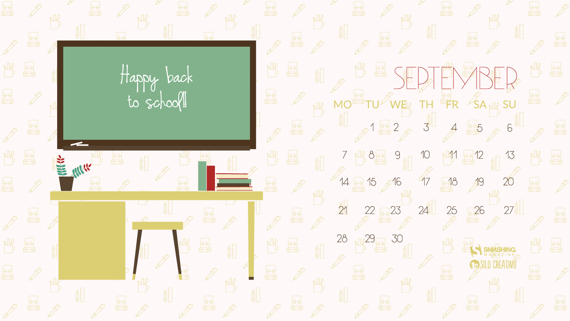 Desktop wallpaper calendar   Septembrie 2015 Welcome to my addiction 1920x1080