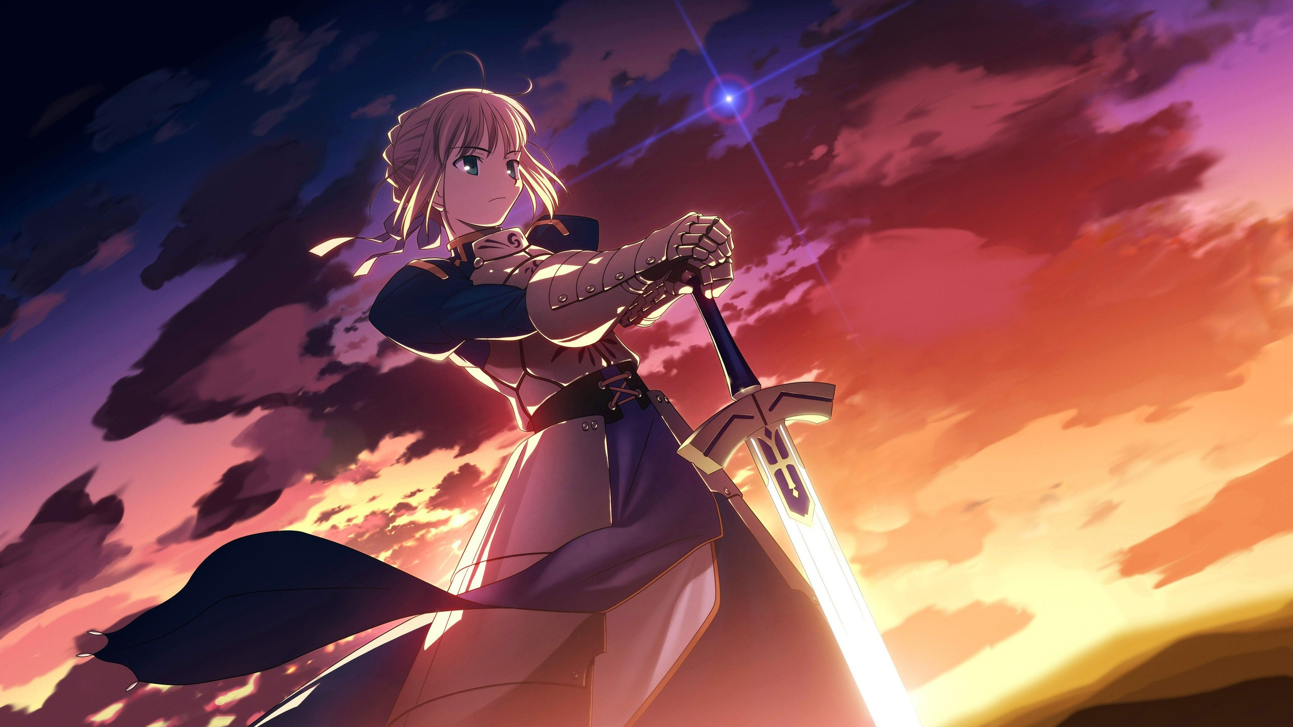 47 Fate Zero Saber Wallpaper On Wallpapersafari