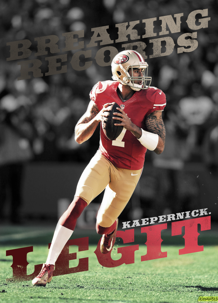 Colin Kaepernick   Legit by OwenB23 736x1024