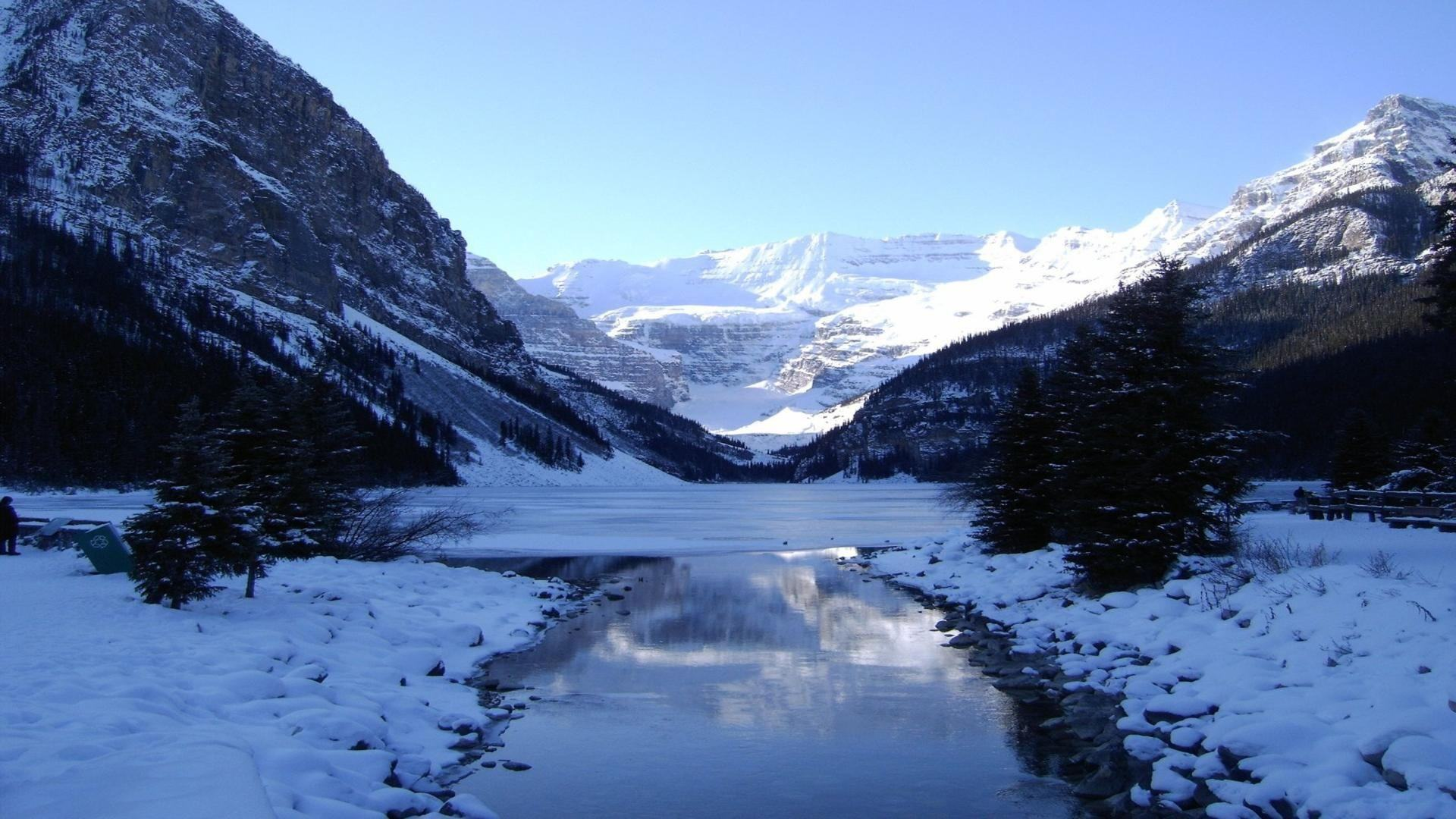 Download Wallpaper   Mountains Canada winter wallpaper desktop 1920x1080