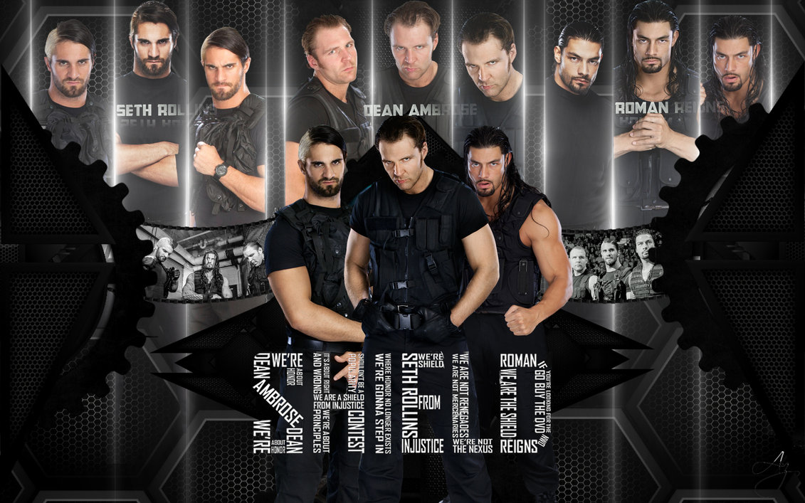 The Shield HD Wallpaper by FunkyAli 1131x707