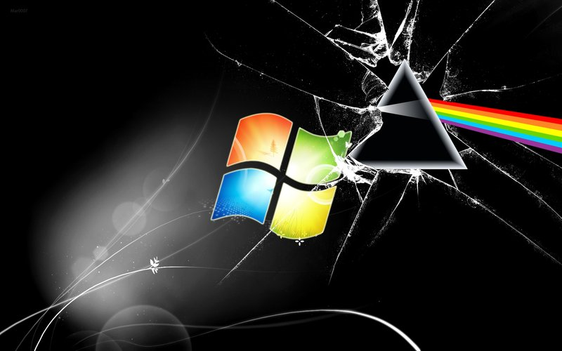 The Dark Side of the Moon Windows Wallpaper by AlduinTheW0rld3ater on 800x500