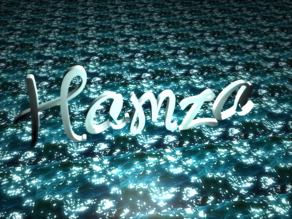 my name in 3d photo hamza3dnamejpg 1024x768