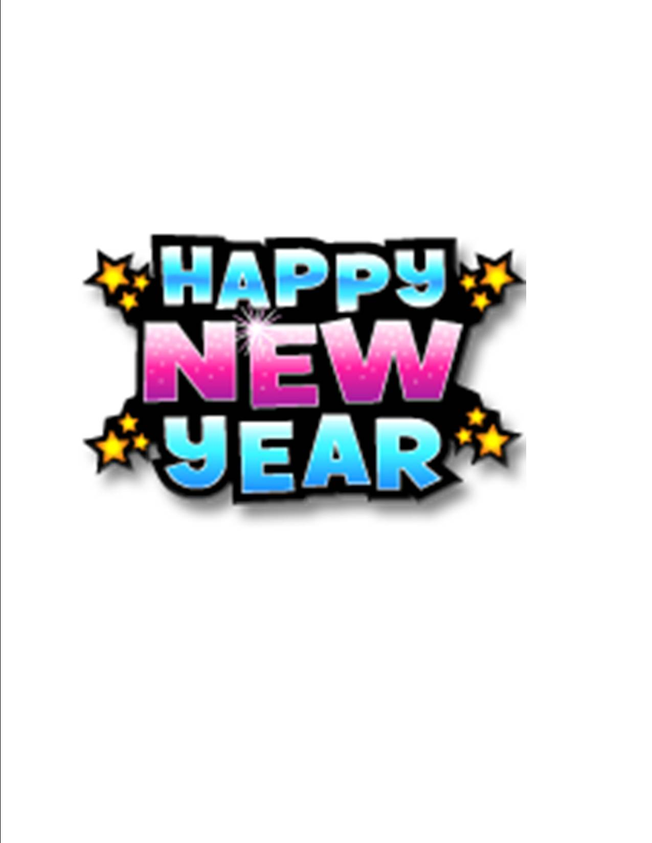 Happy new year clip art wallpapers 3   ClipartBarn 1275x1650