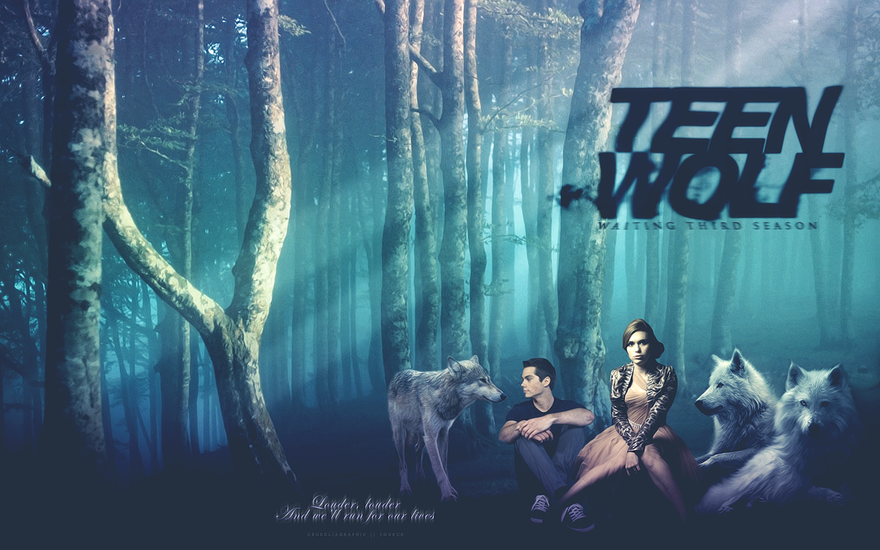 WALLPAPER TEEN WOLF 3 by MPepina 1280x800