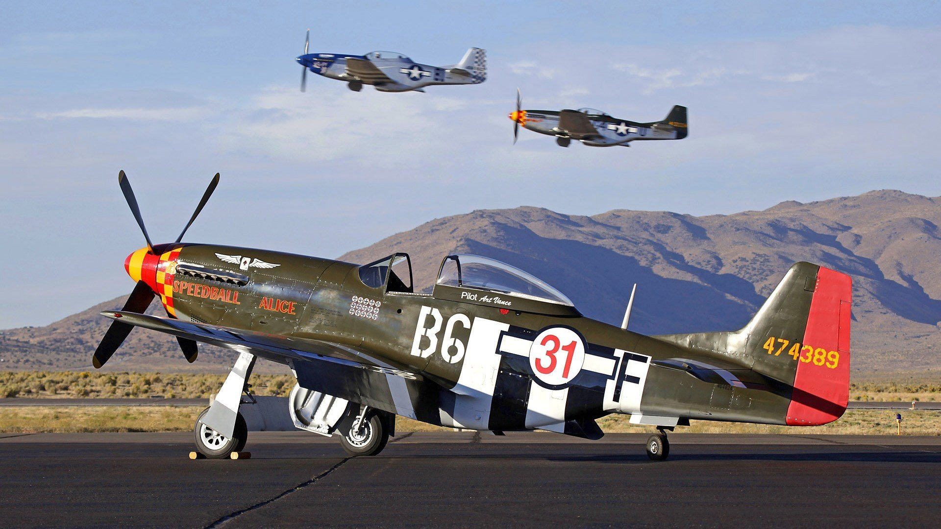 mustang wallpaper warbird aircraft wallpapersjpg 1920x1080