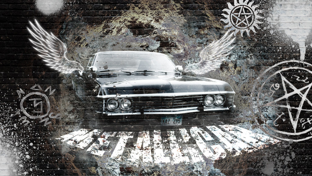 supernatural car impala wallpaper - photo #21