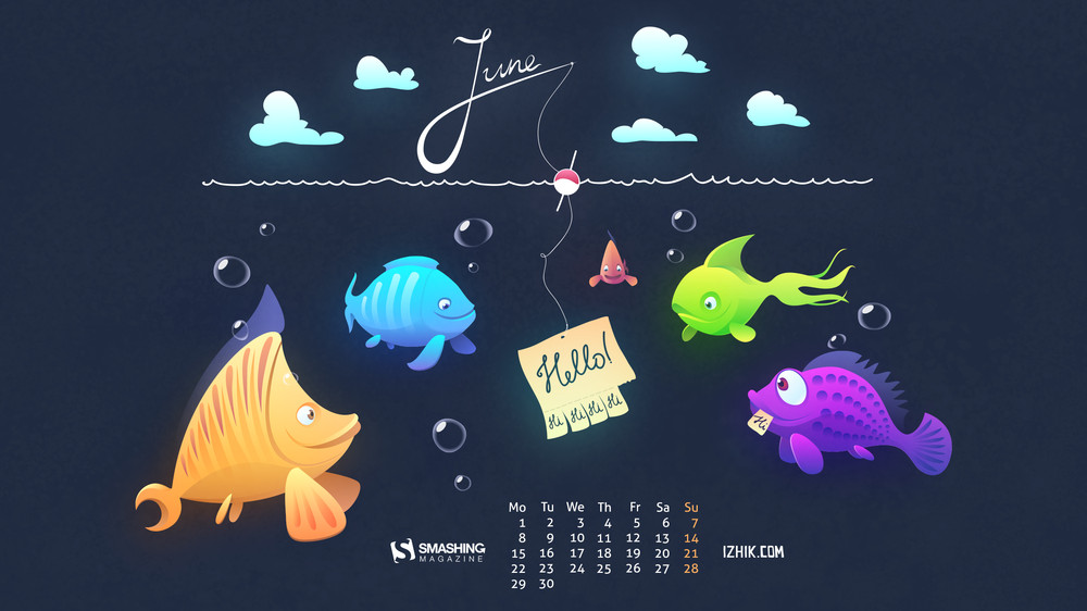 Desktop Wallpaper Calendars: June 2015 – Smashing Magazine