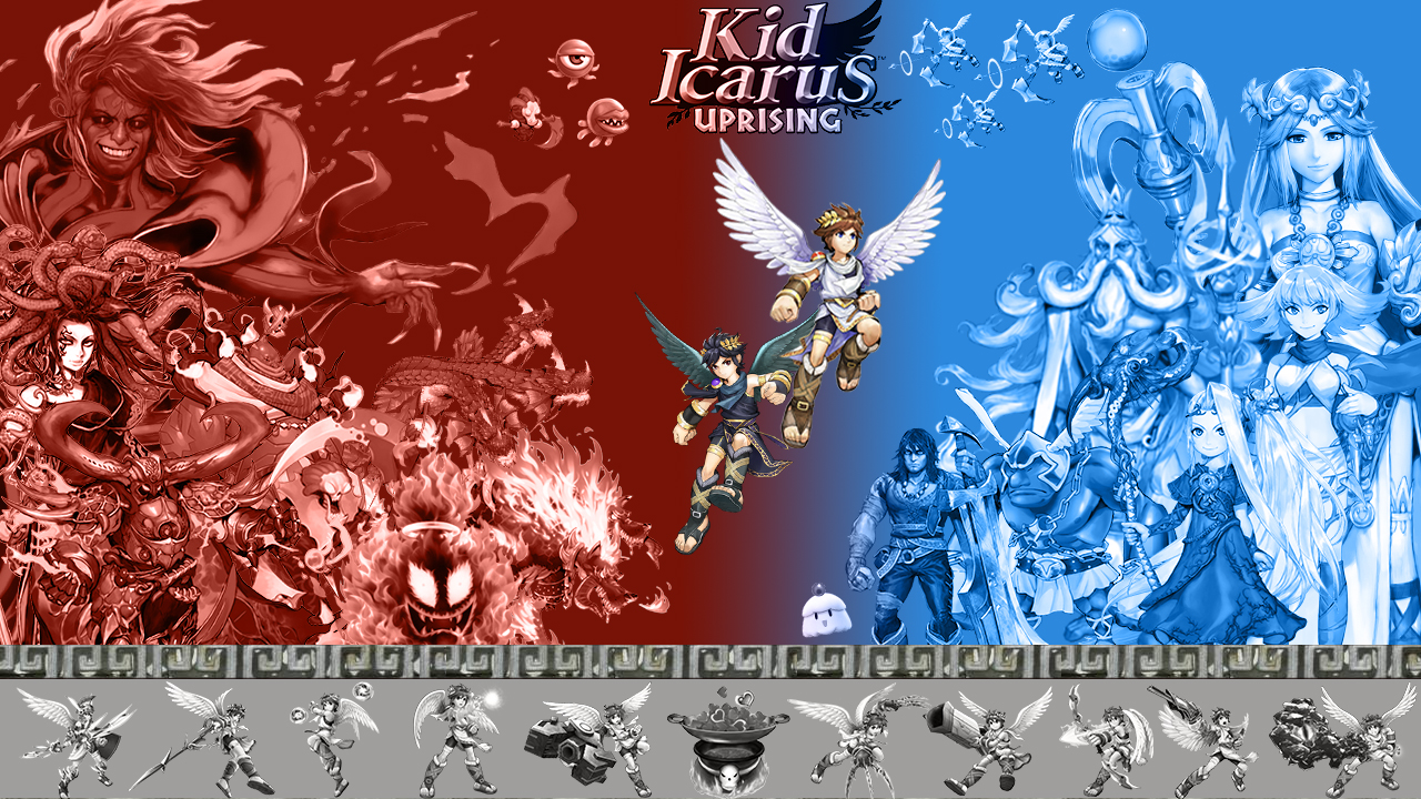70 Kid Icarus Wallpaper On Wallpapersafari