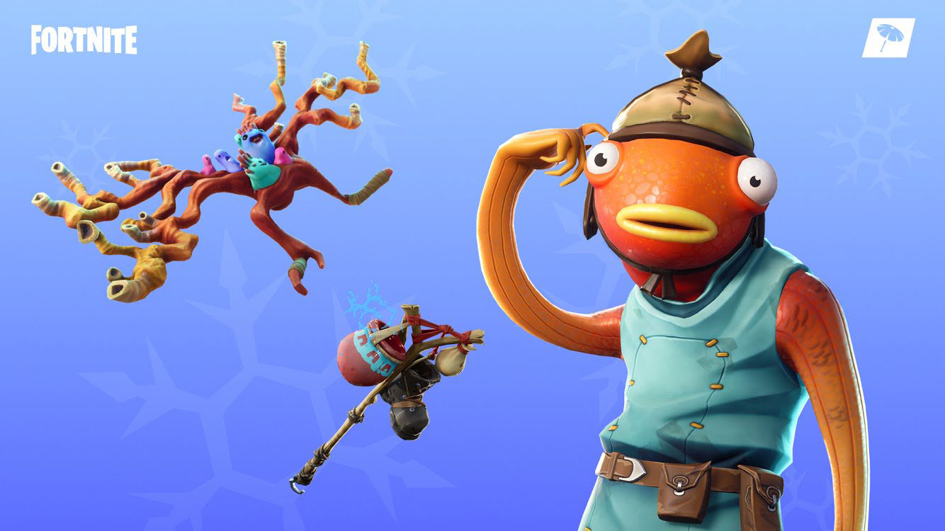 Fortnite Fishstick Skin   Outfit PNGs Images   Pro Game Guides 1334x750