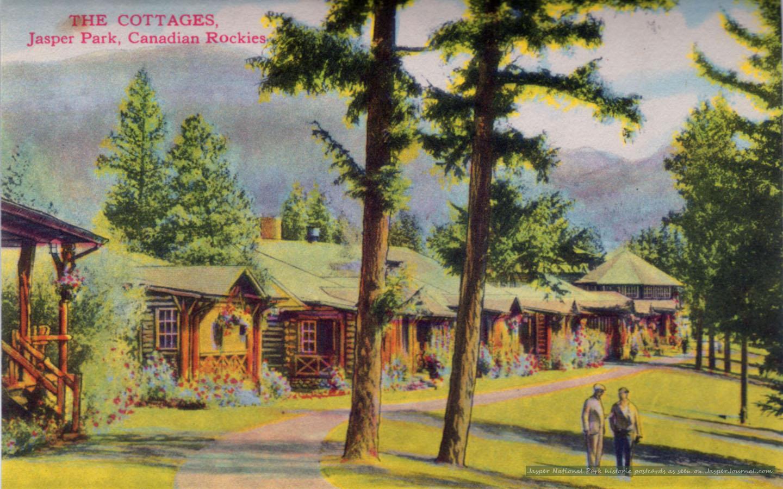 Jasper National Park Photo The Cottages from 1940s Jasper 1440x900