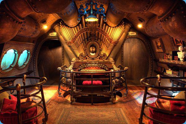 Jules Verne Nautilus Blueprints httpdisney palcomDisneyland 600x400
