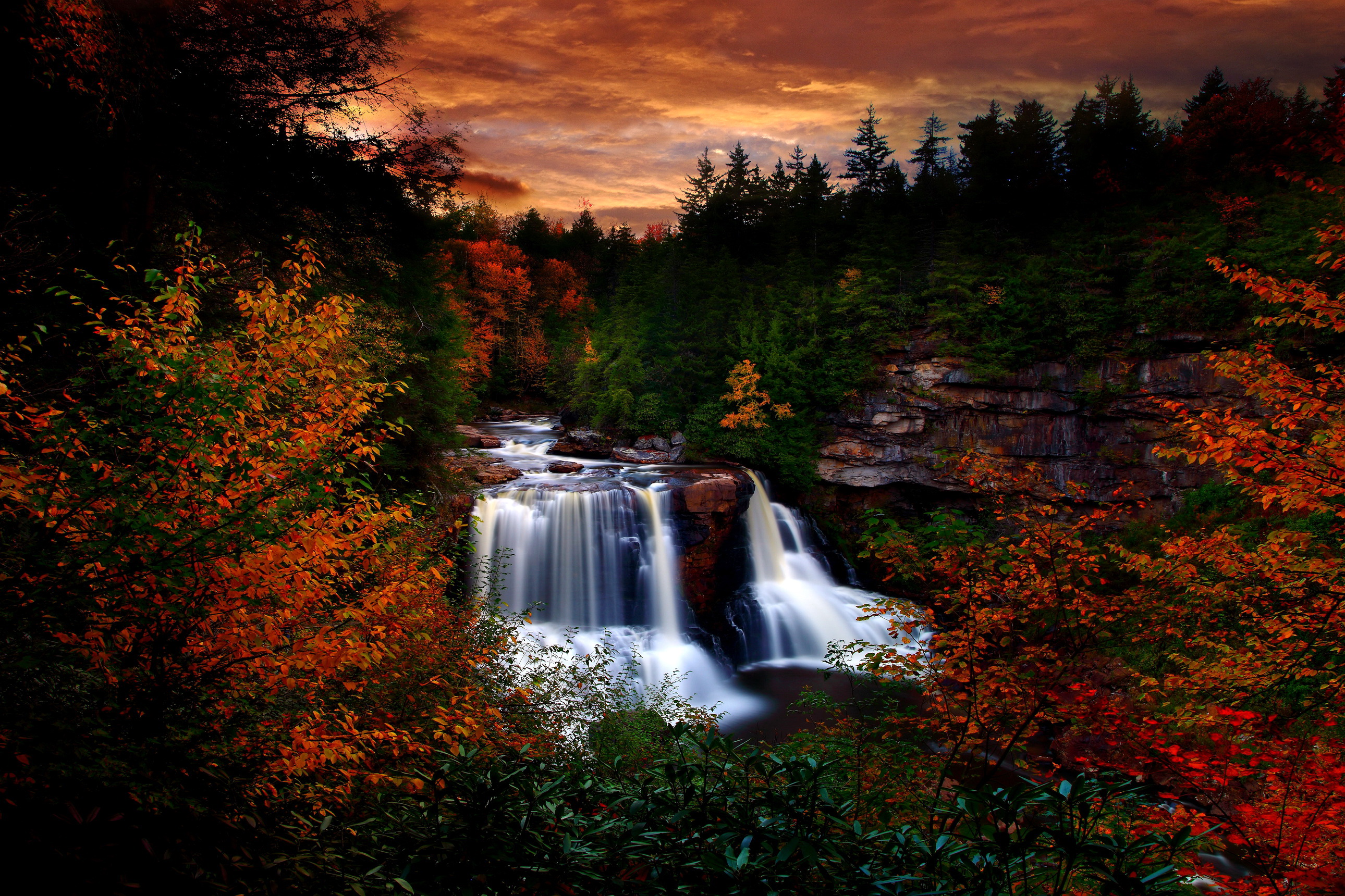 www autumn wallpaper picturesque creek | www.picturesboss