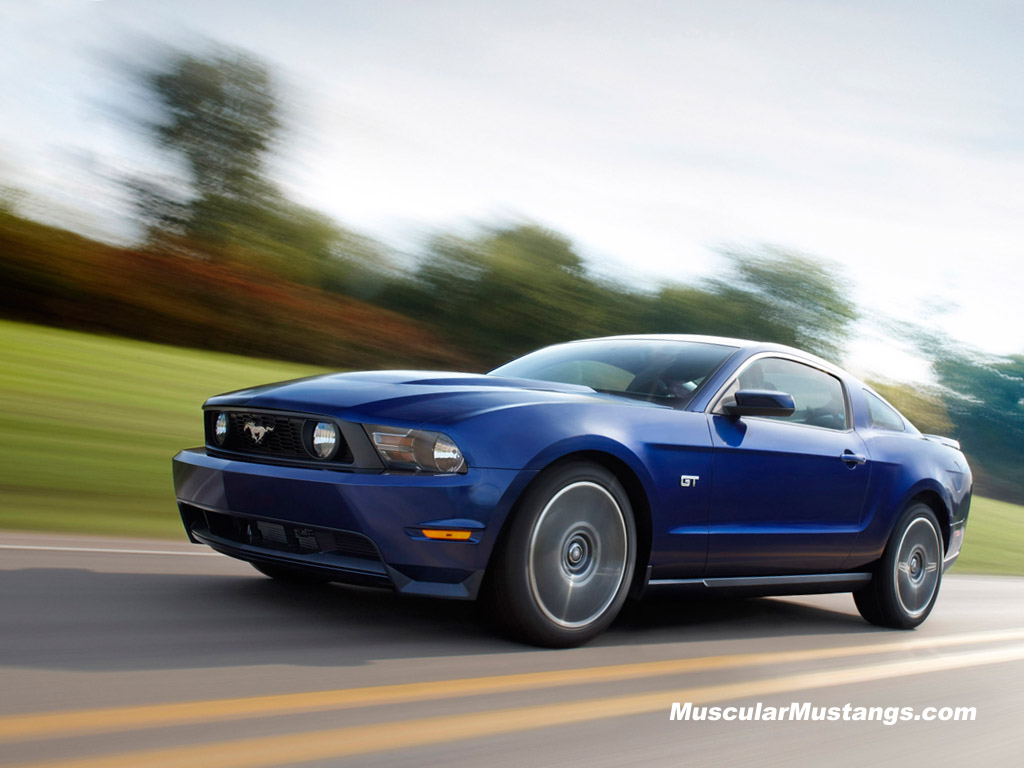 2010 Ford Mustang GT Wallpaper 1024x768 1024x768