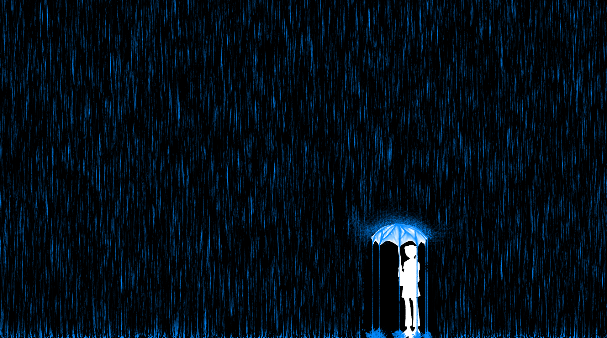 Rainy Day Wallpaper TUTORIAL by theoneandonly06 1936x1080