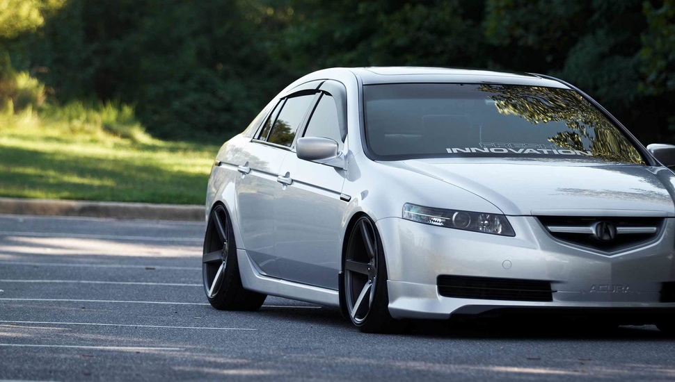 acura acura tl vossen tuning drives wallpaper and desktop 970x550