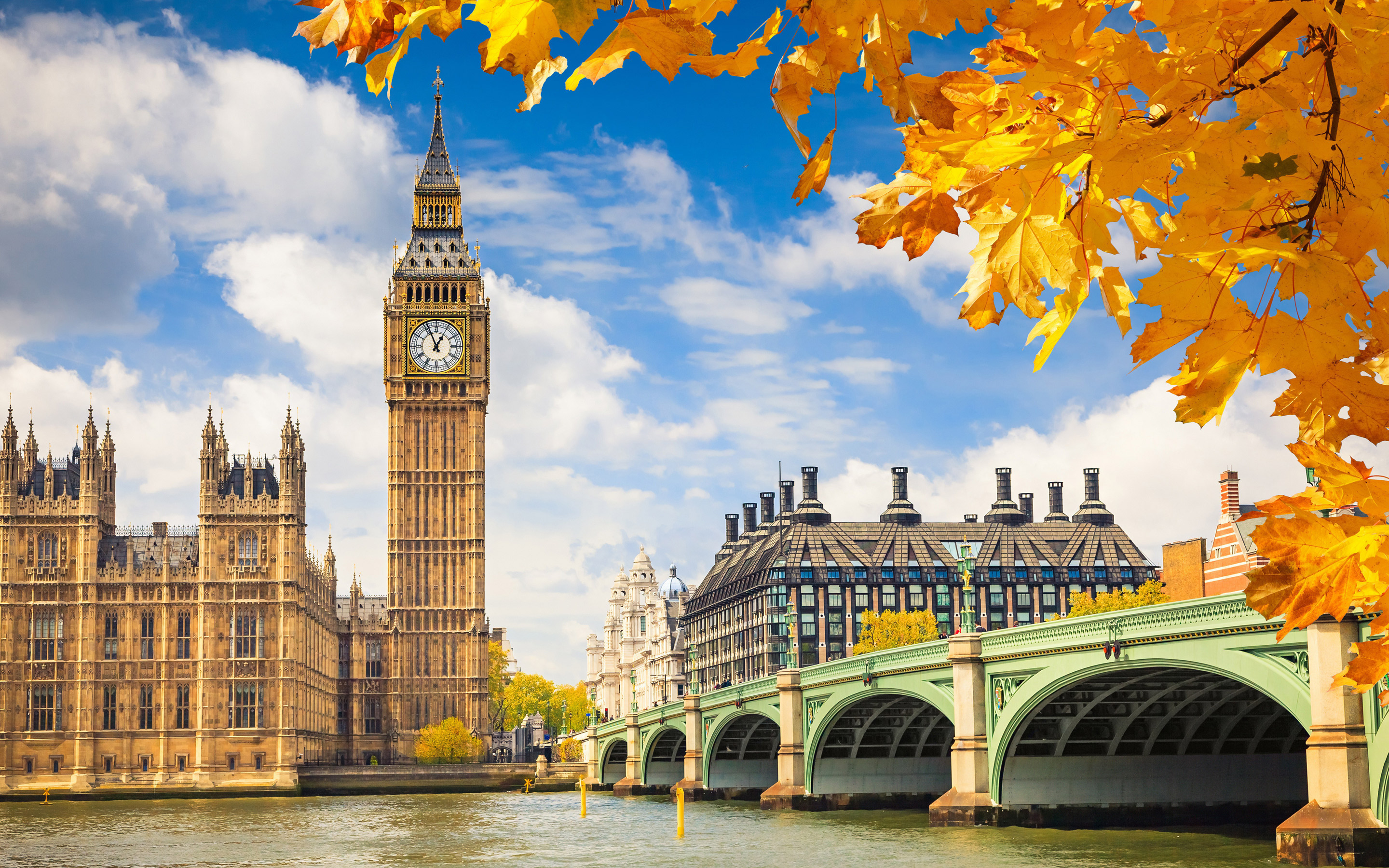 England London Big Ben HD Wallpapers 2880x1800