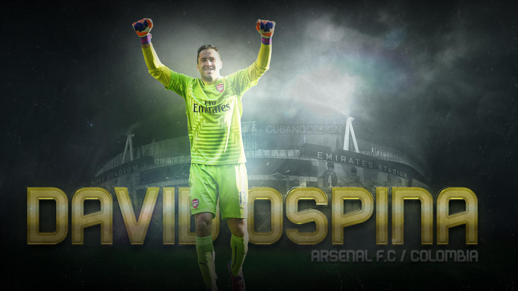 Wallpaper David Ospina Arsenal FC by CubanoDesign 1024x576
