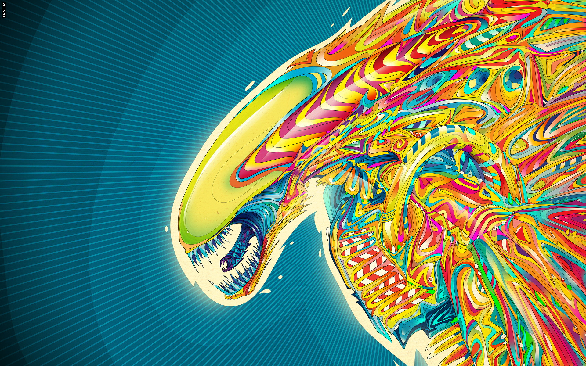 Acid Trip Alien Wallpapers Myspace Backgrounds 1920x1200