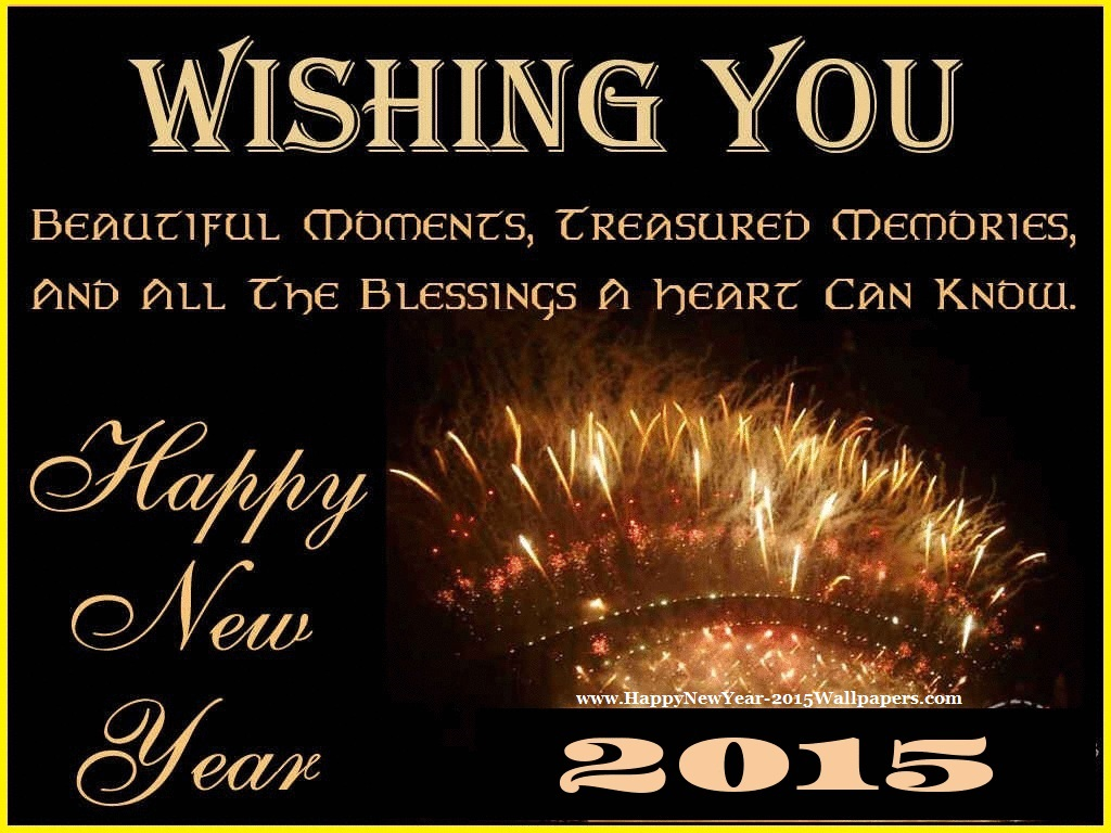 Happy New Year 2015 Wishes Wallpapers Wallpapers Box 1024x768