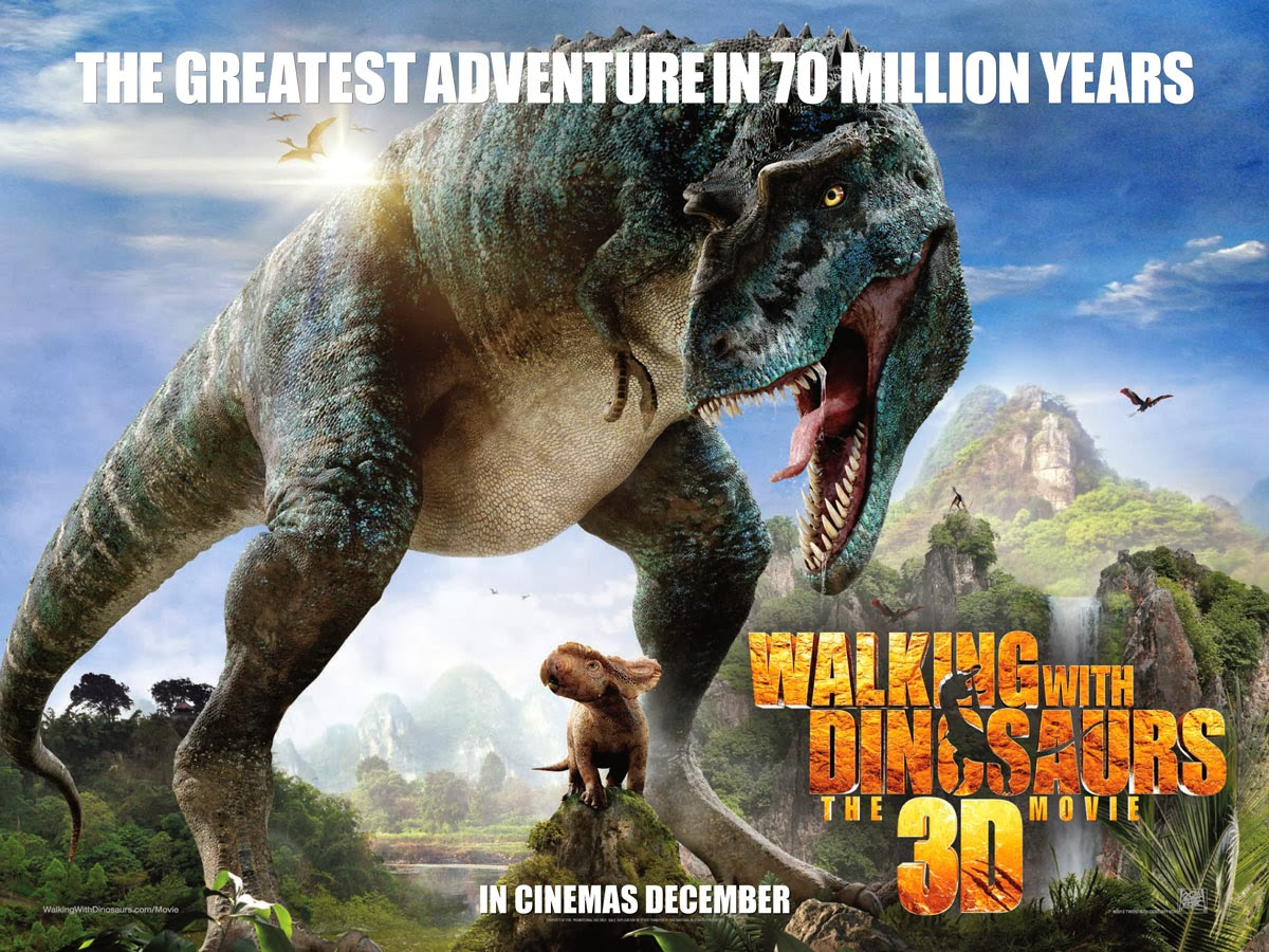 Movie Review and Contest Walking With Dinosaurs 3D   Owlkids 1200x900