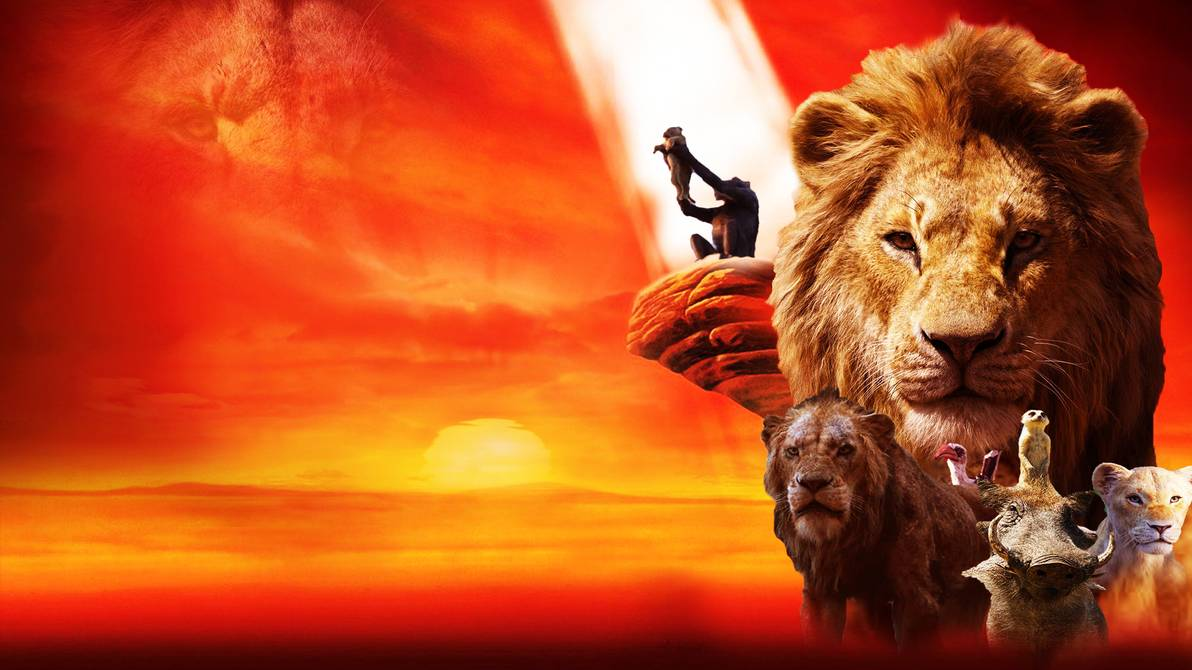 Free Download The Lion King 2019 Wallpaper By The Dark Mamba