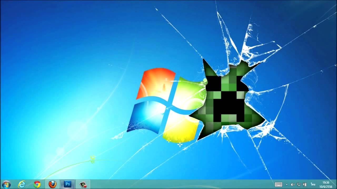 Free Download Broken Screen Wallpaper Windows 7 Memes 1280x720