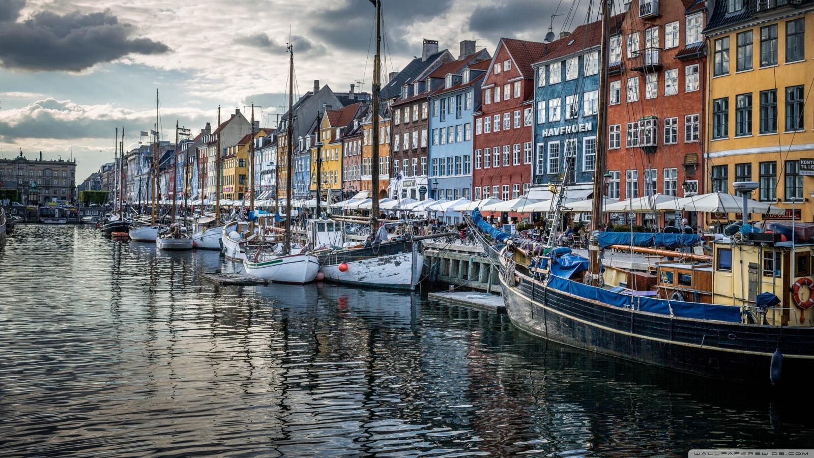 Copenhagen Denmark 4K HD Desktop Wallpaper for 4K Ultra HD TV 1600x900