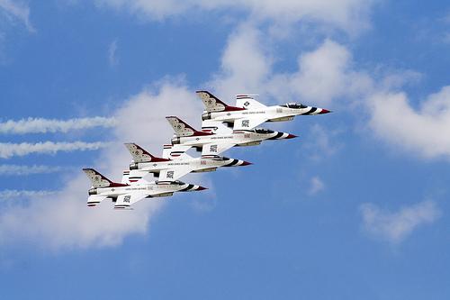 Thunderbirds The Air Force Thunderbirds By Asten Flickr   Photo 500x333