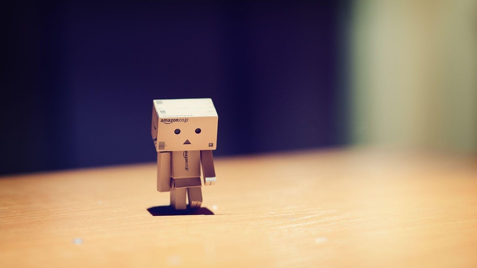 Danbo alone sad 1920x1080 sad via wwwallwallpaperin 1920x1080
