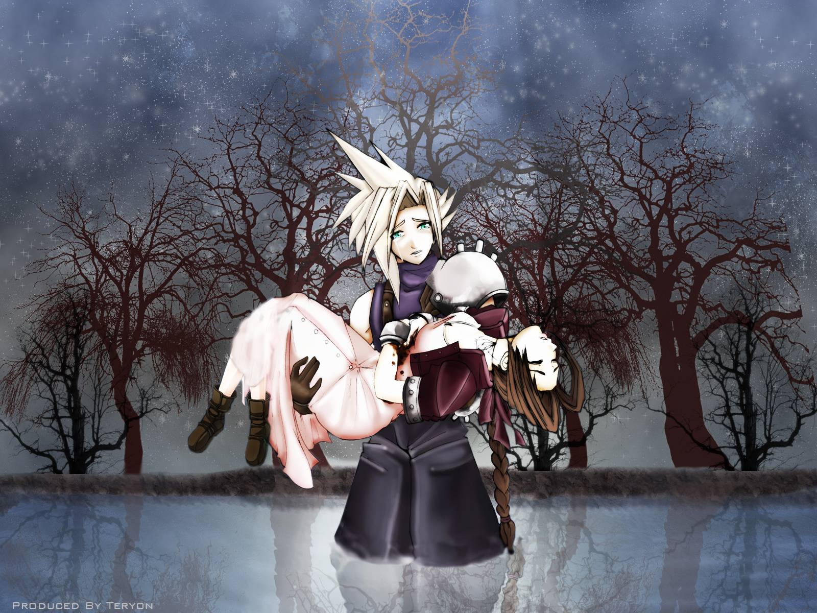 Final Fantasy VII Wallpaper HD Best Quality 1098 Wallpaper gamejetz 1600x1200