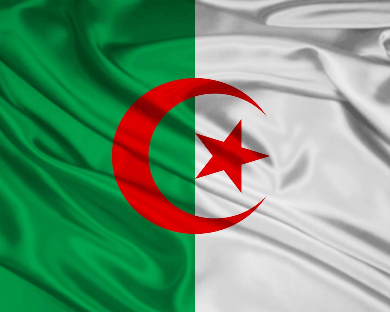 1280x1024 Algeria Flag desktop PC and Mac wallpaper 1280x1024