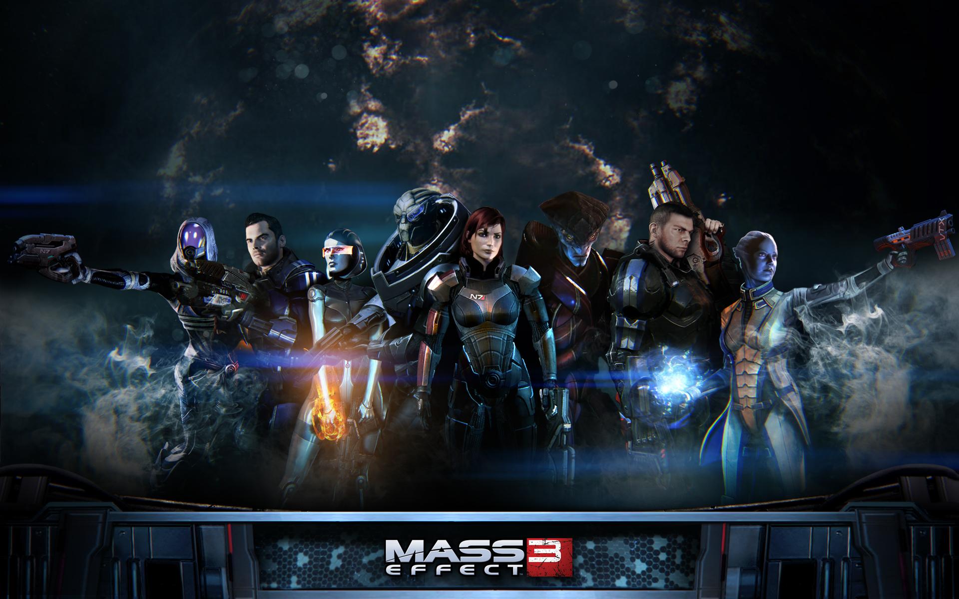 50 Mass Effect 3 Femshep Wallpaper On Wallpapersafari