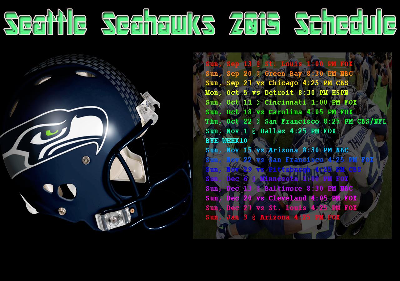 2016 seahawks schedule wallpaper wallpapersafari seattle seahawks 2015 schedule background wallpaper download comes 1280x900 voltagebd Image collections